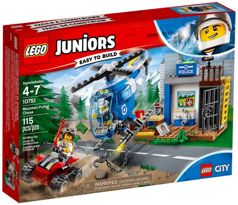LEGO Juniors 10751 La course poursuite à la montagne