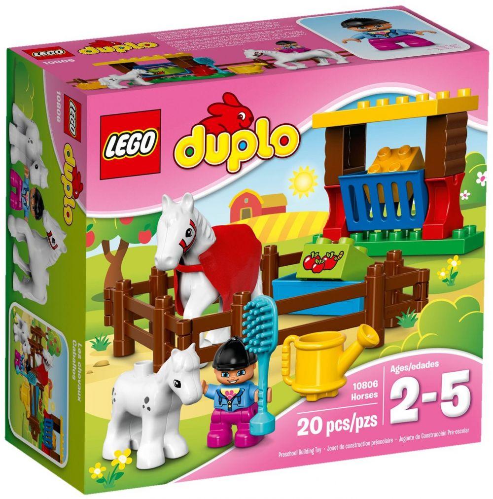 10806-Les chevaux de LEGO