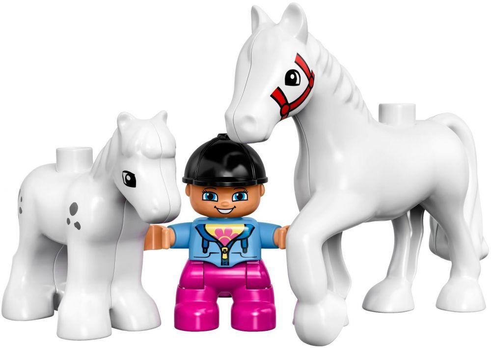 LEGO DUPLO 10806 Les chevaux  Lego Duplo  Lego  Construction  Jouets