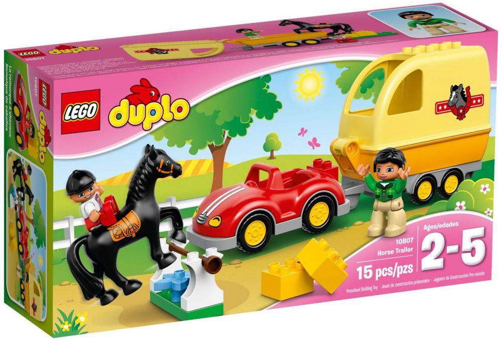 10807-La remorque à chevaux de LEGO