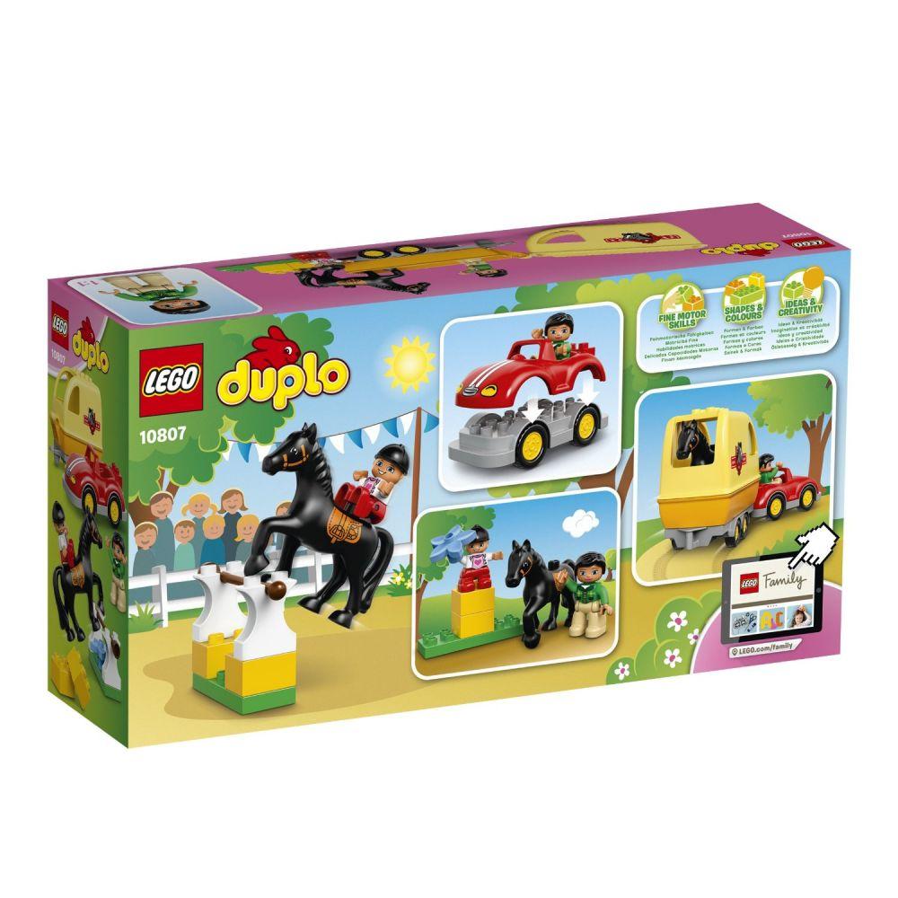 LEGO Duplo 10807 pas cher  La remorque à chevaux