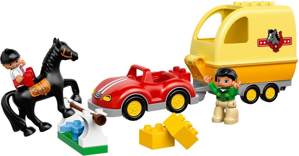LEGO DUPLO 10807 La remorque à chevaux DreamLand
