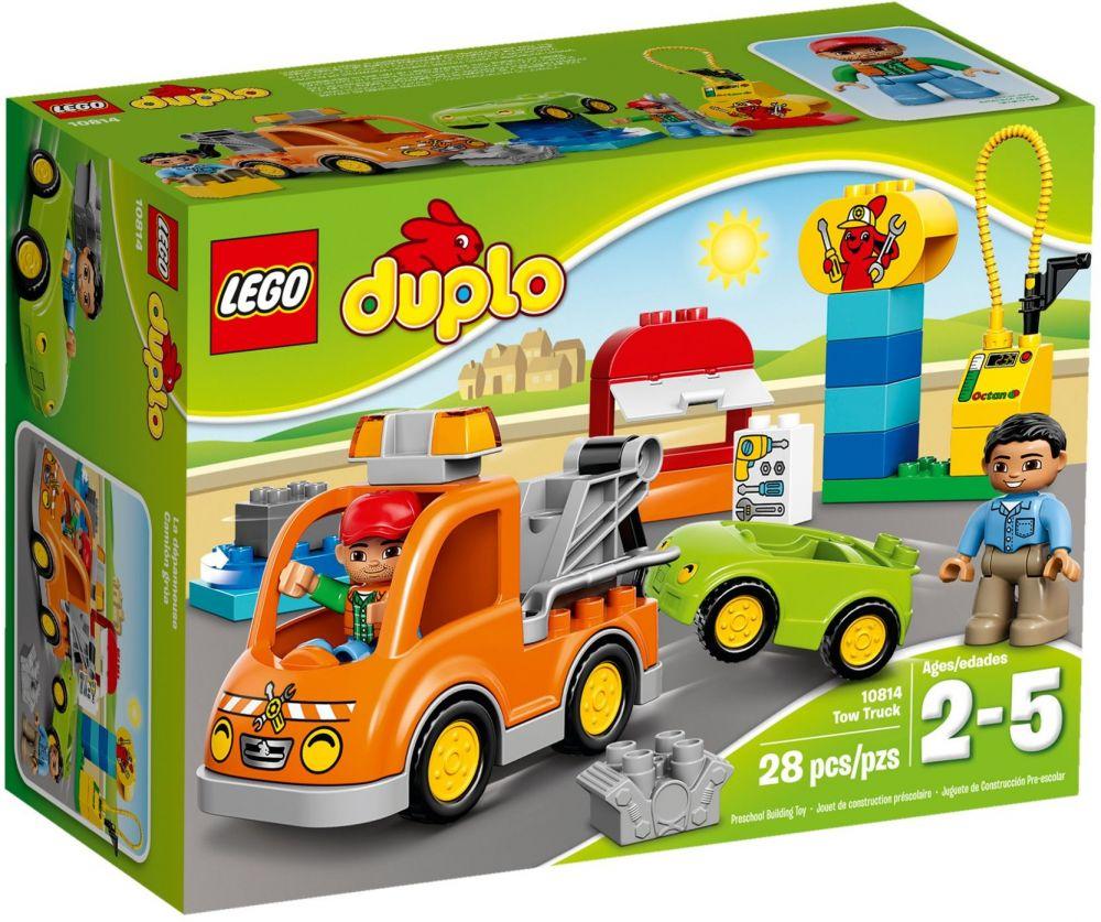Nieuw LEGO Duplo 10814 pas cher, La dépanneuse OB-12