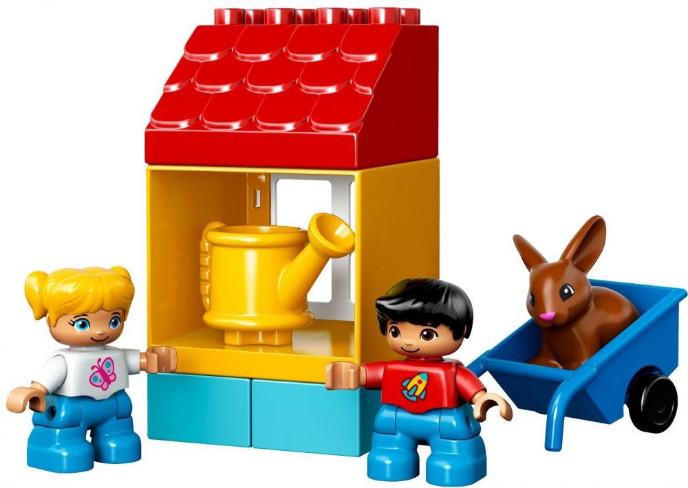 10819 mon premier jardin de lego. Black Bedroom Furniture Sets. Home Design Ideas
