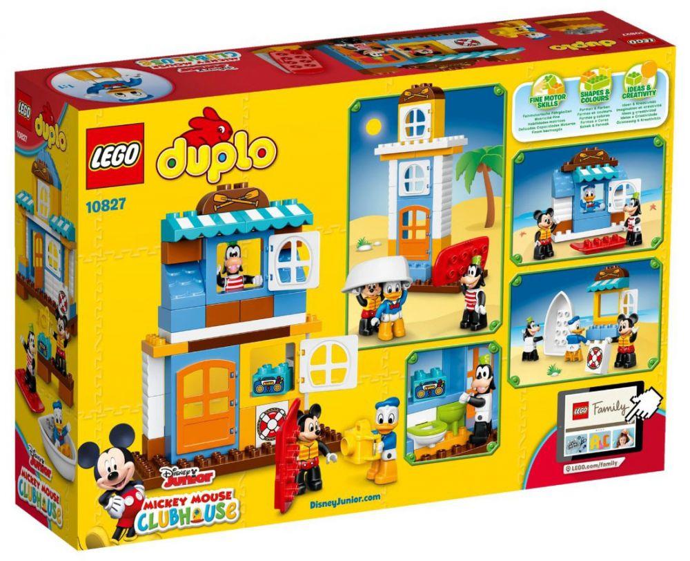 Lego duplo 10827 pas cher la maison la plage de mickey - Amis de mickey ...