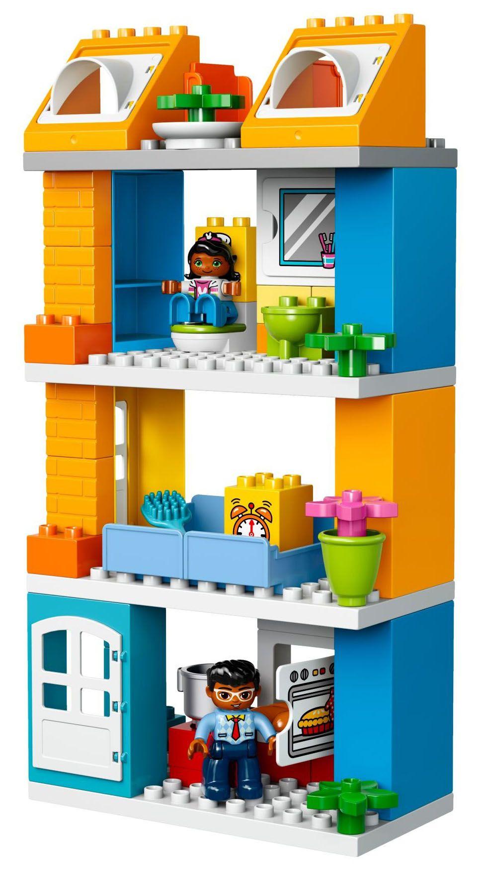 lego duplo 10835 pas cher la maison de famille. Black Bedroom Furniture Sets. Home Design Ideas
