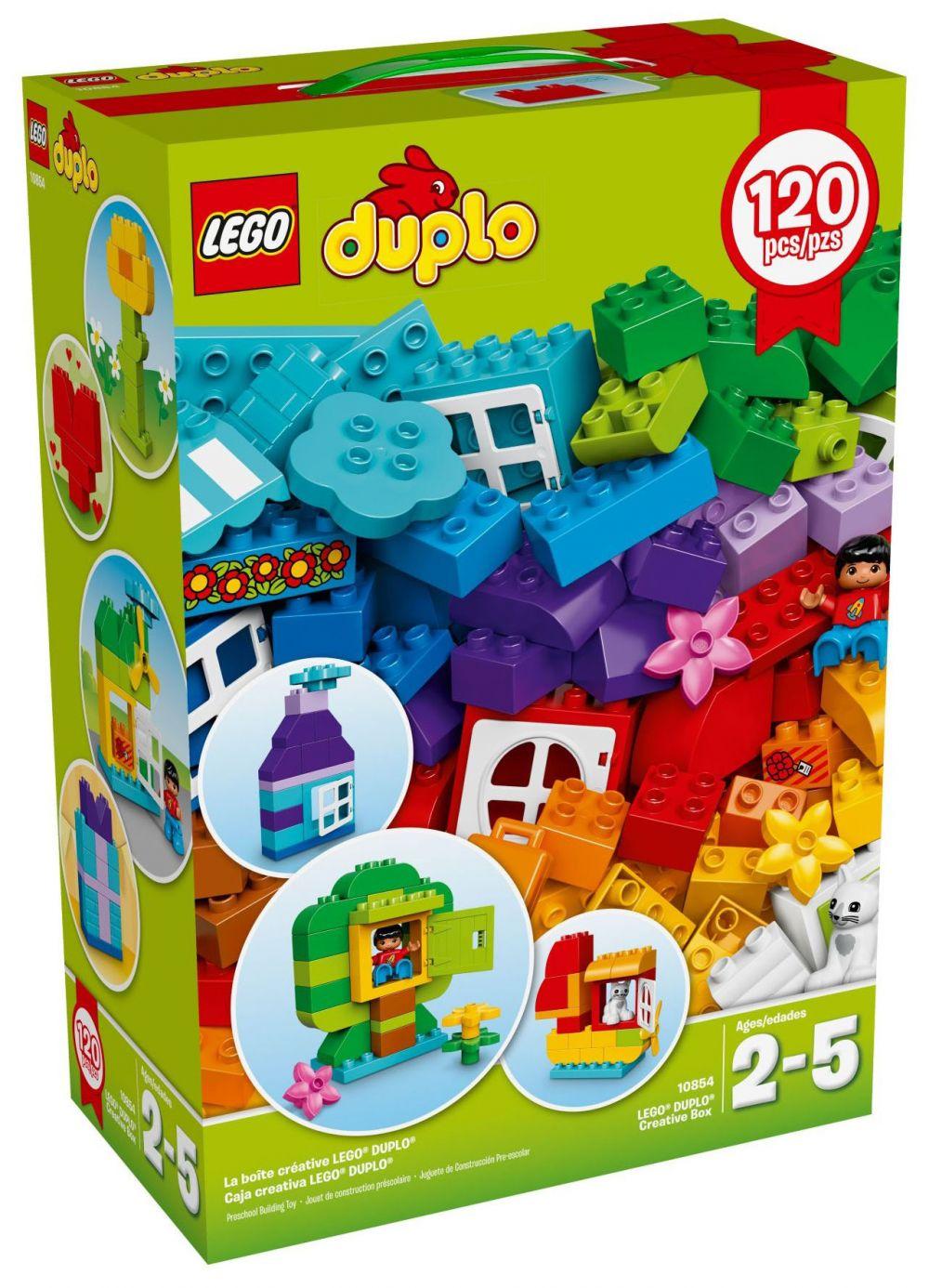 lego duplo 10854 pas cher ensemble de 120 briques lego duplo. Black Bedroom Furniture Sets. Home Design Ideas