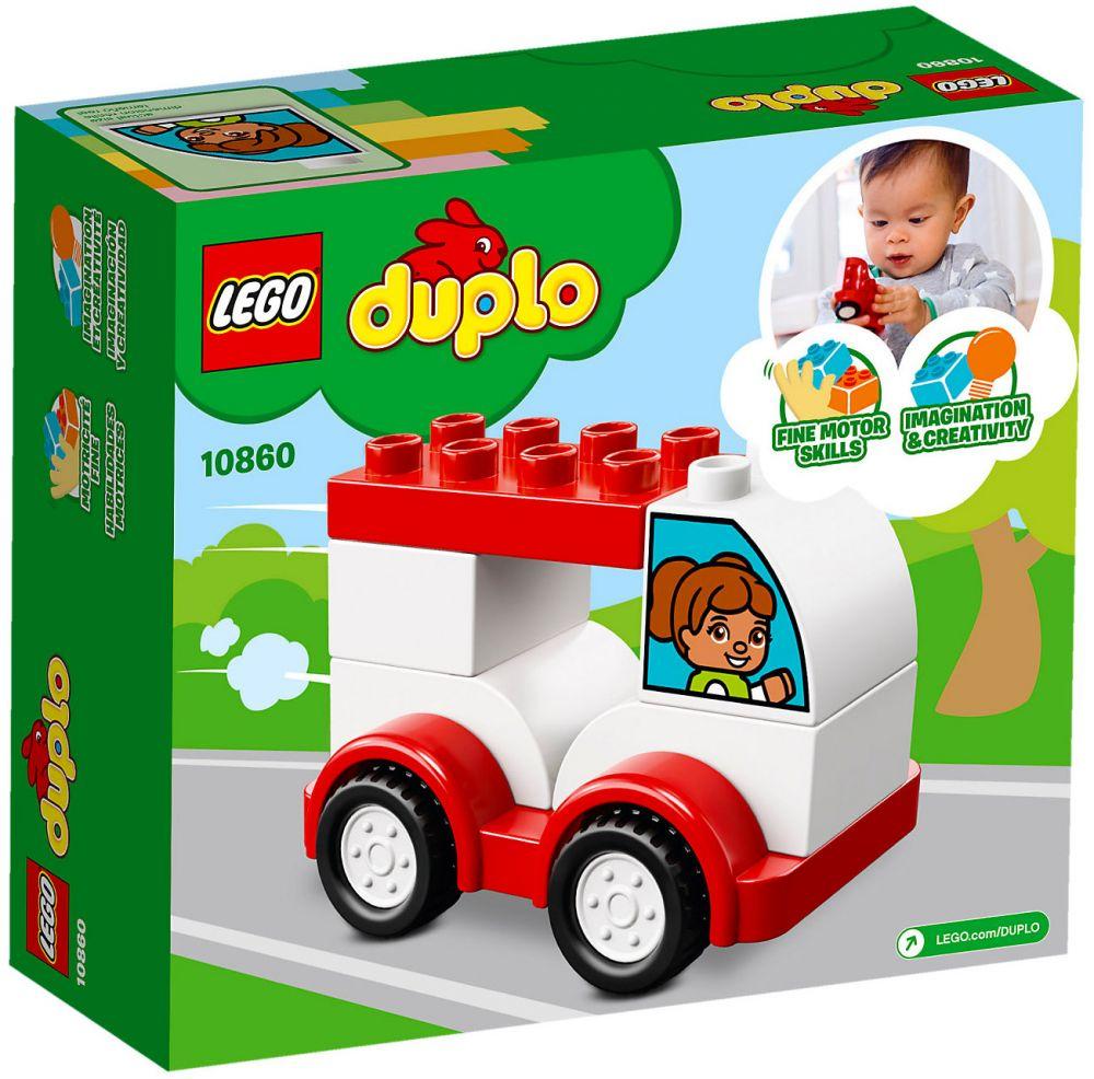 LEGO Duplo 10860 pas cher - Ma première voiture de course