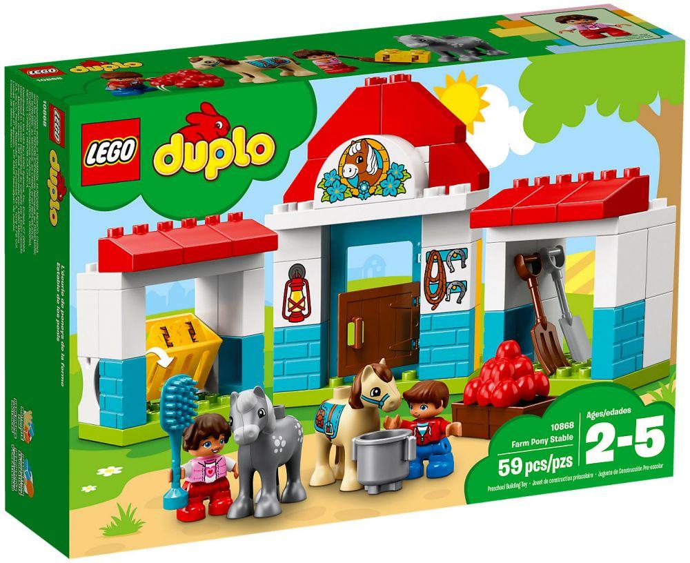 Lego La Le Ferme Poney Duplo Club De 10868 MpjSGUzVLq