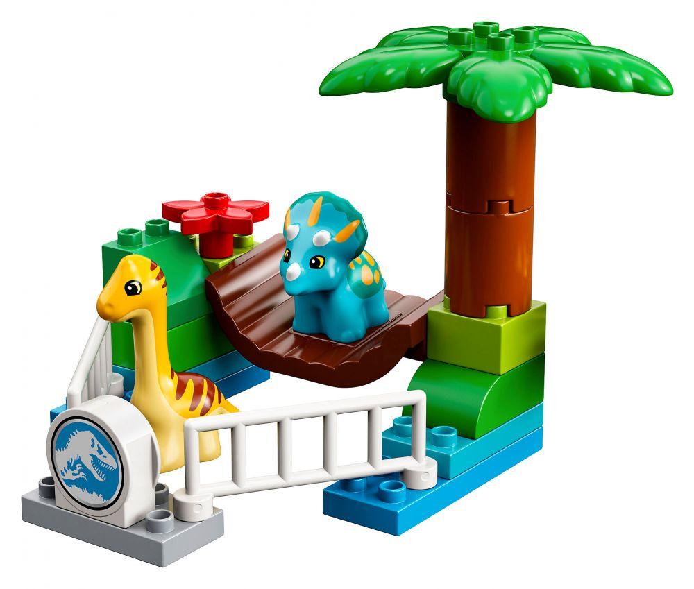 LEGO Duplo 10879 Pas Cher, Le Zoo Des Adorables Dinos