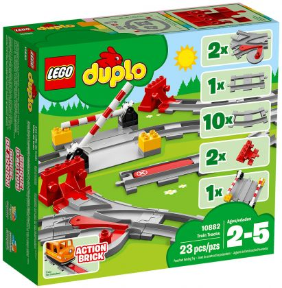 LEGO Duplo 10882 Les rails du train