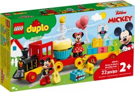 LEGO Duplo 10941 Le train d'anniversaire de Mickey et Minnie