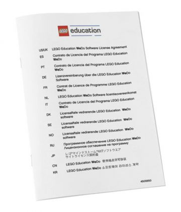 LEGO Education 2000094 Licence Multiposte Lego Education WeDo