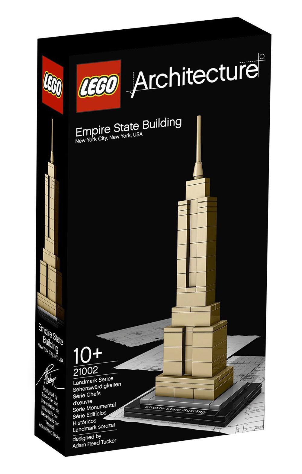 lego architecture  pas cher empire state building