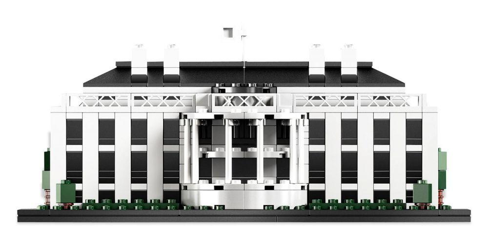 Lego architecture 21006 pas cher la maison blanche for Architecture de la maison blanche