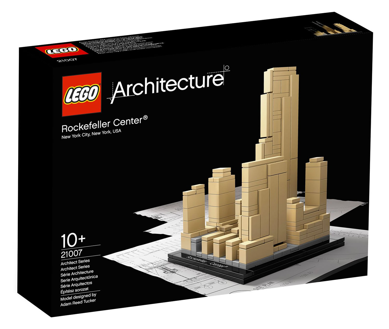 lego architecture  pas cher rockefeller center