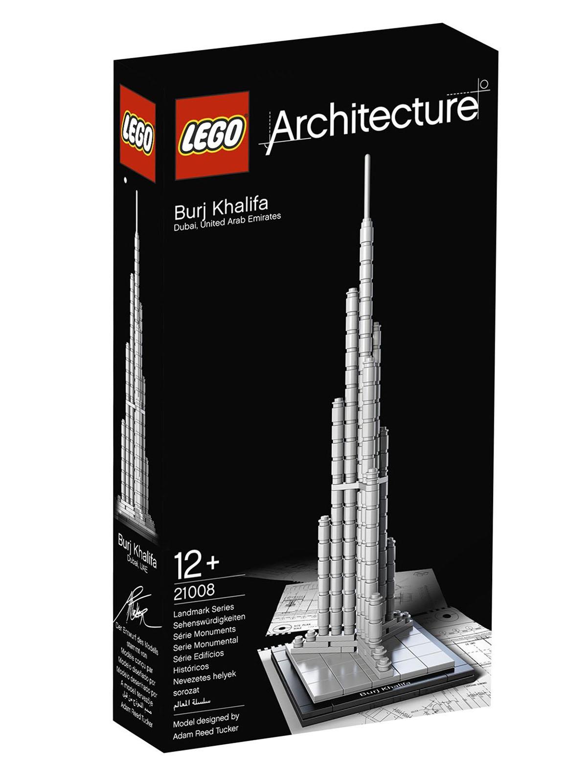 Lego Architecture 21008 Pas Cher Burj Khalifa