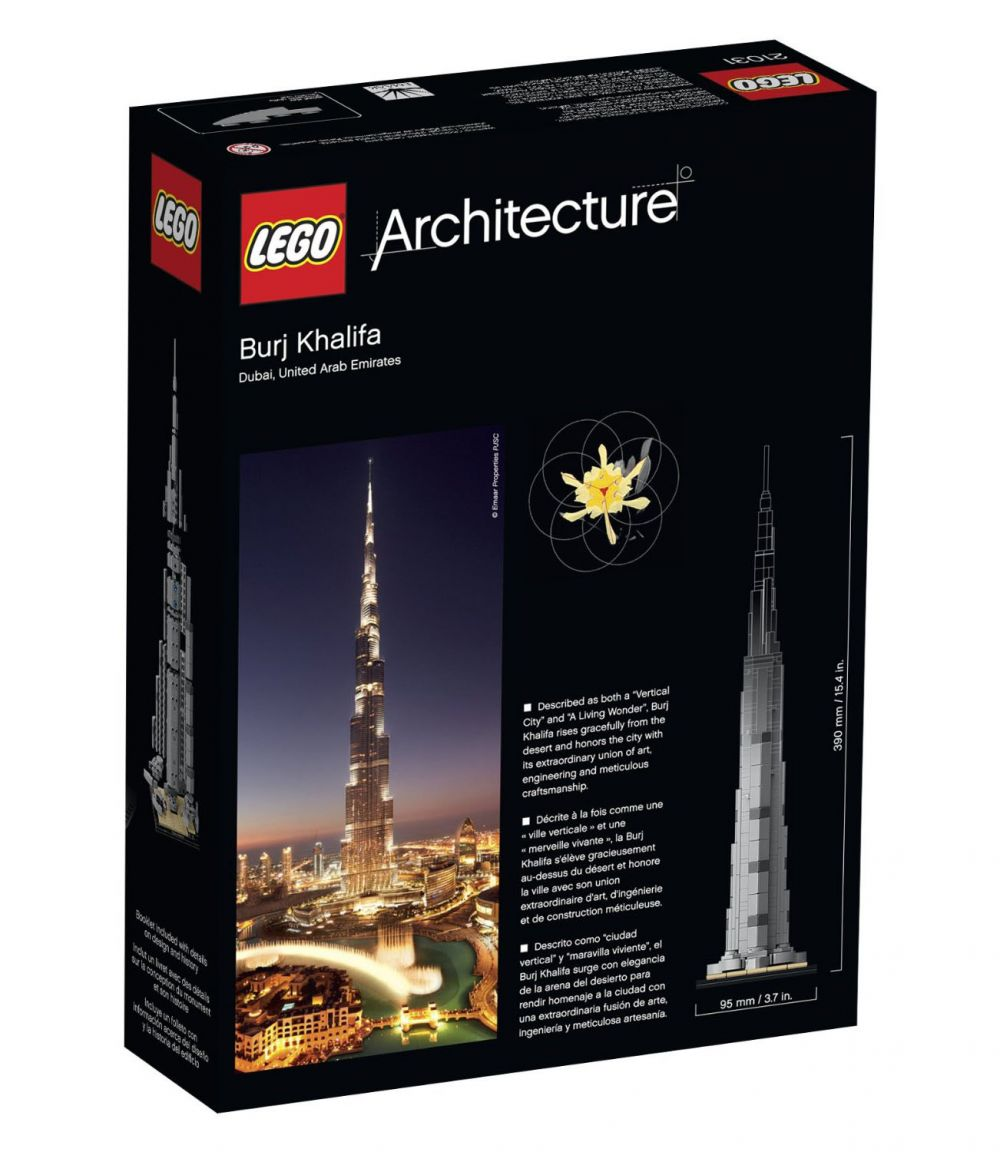 lego architecture 21008 pas cher burj khalifa. Black Bedroom Furniture Sets. Home Design Ideas