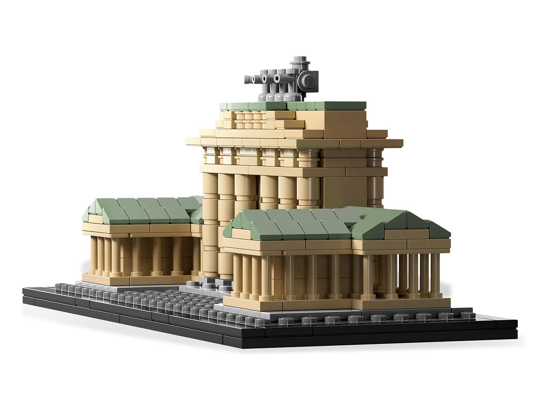 lego architecture  pas cher porte de brandebourg