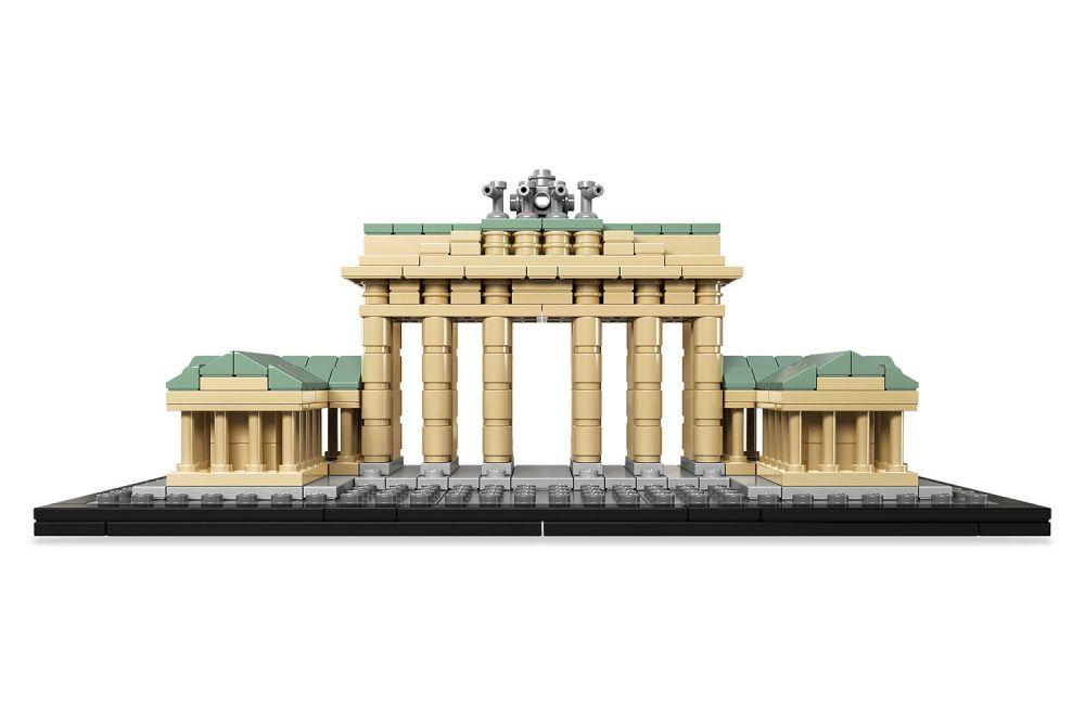 Lego architecture 21011 pas cher porte de brandebourg - Avenue de la porte de montrouge ...