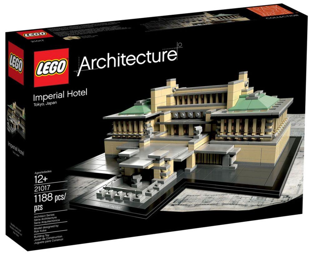lego architecture 21017 pas cher h tel imp rial tokyo japon. Black Bedroom Furniture Sets. Home Design Ideas
