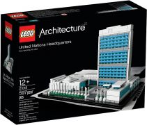 LEGO Architecture 21018 - Le Siège des Nations Unies (New York, Etats-Unis) pas cher