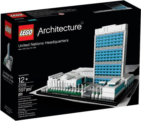 LEGO Architecture 21018 Le Siège des Nations Unies (New York, Etats-Unis)