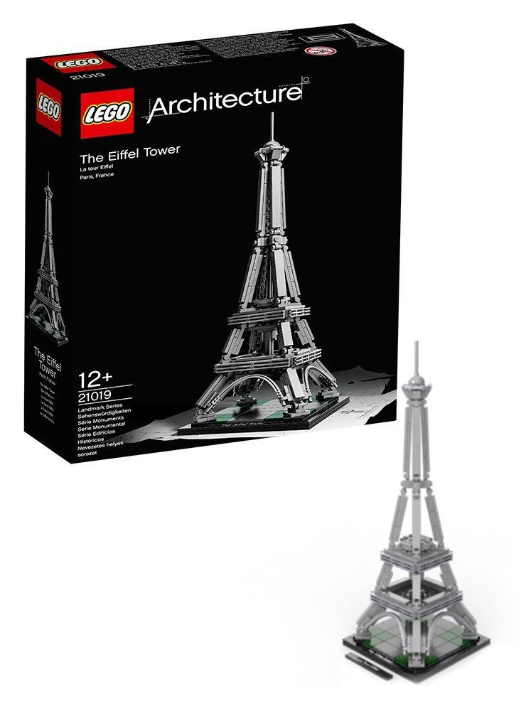 lego architecture 21019 pas cher la tour eiffel paris france. Black Bedroom Furniture Sets. Home Design Ideas