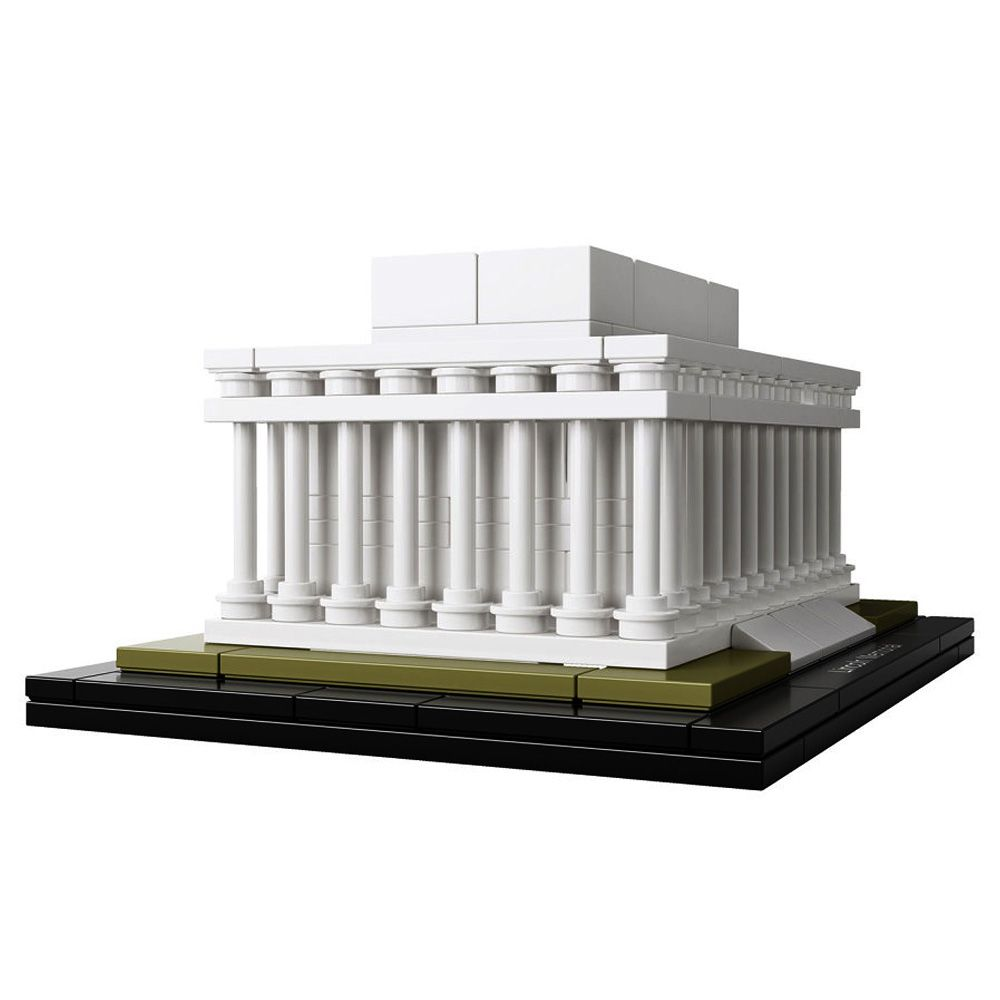 lego architecture 21022 pas cher lincoln memorial washington etats unis. Black Bedroom Furniture Sets. Home Design Ideas