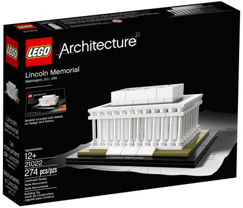 LEGO Architecture 21022 Lincoln Memorial (Washington, Etats-Unis)