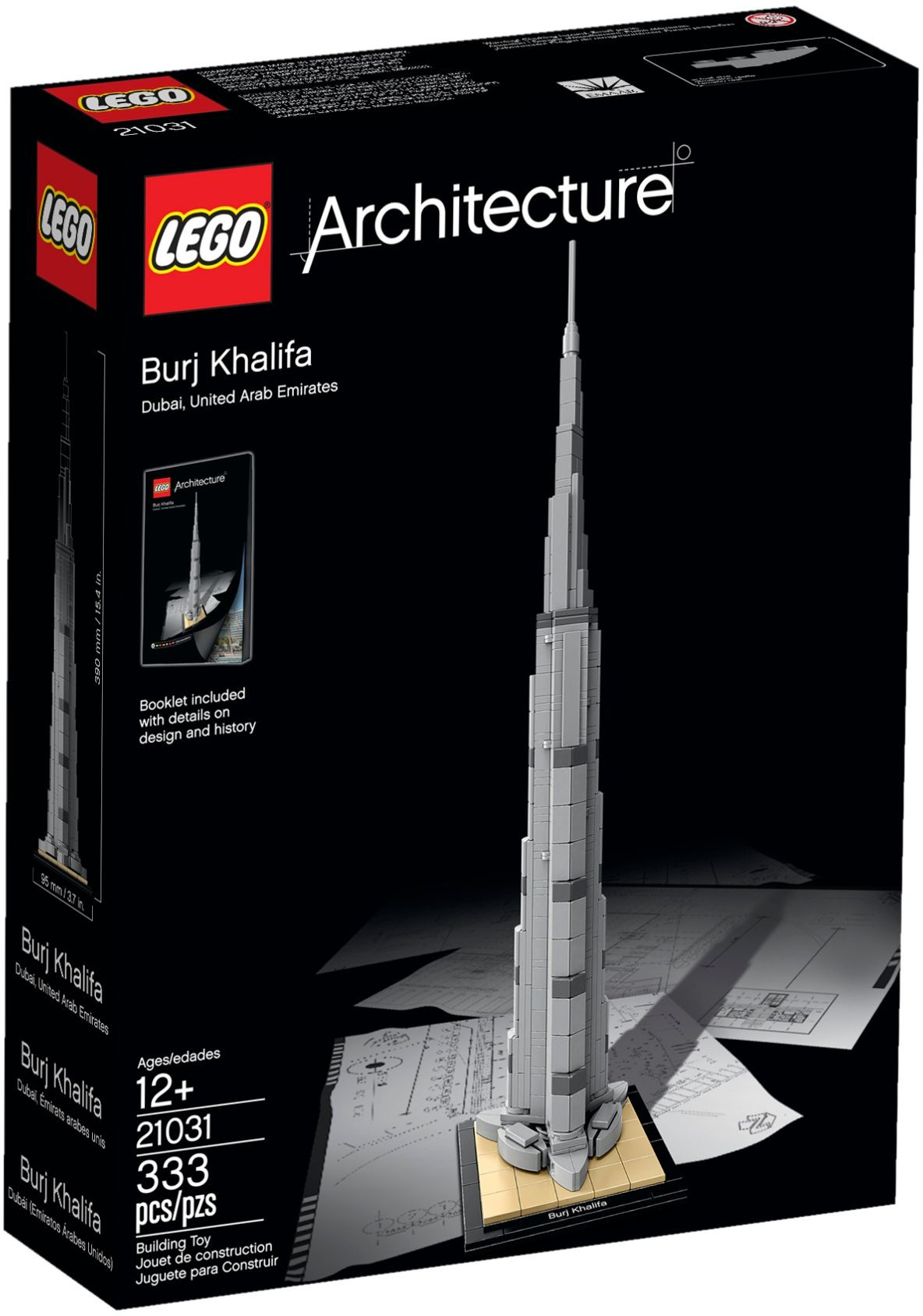 lego architecture 21031 pas cher burj khalifa. Black Bedroom Furniture Sets. Home Design Ideas