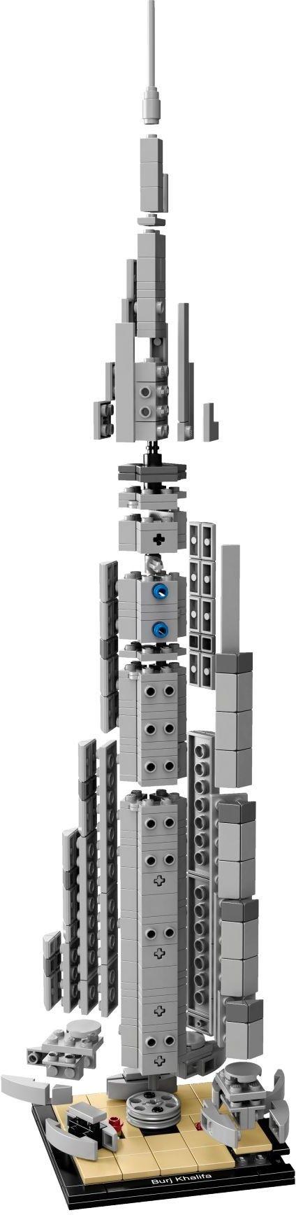 lego architecture 21031 pas cher burj khalifa. Black Bedroom Furniture Sets. Home Design Ideas