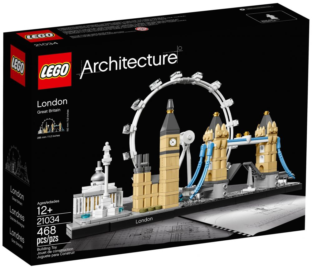 Lego architecture 21034 pas cher londres for Architecture londres