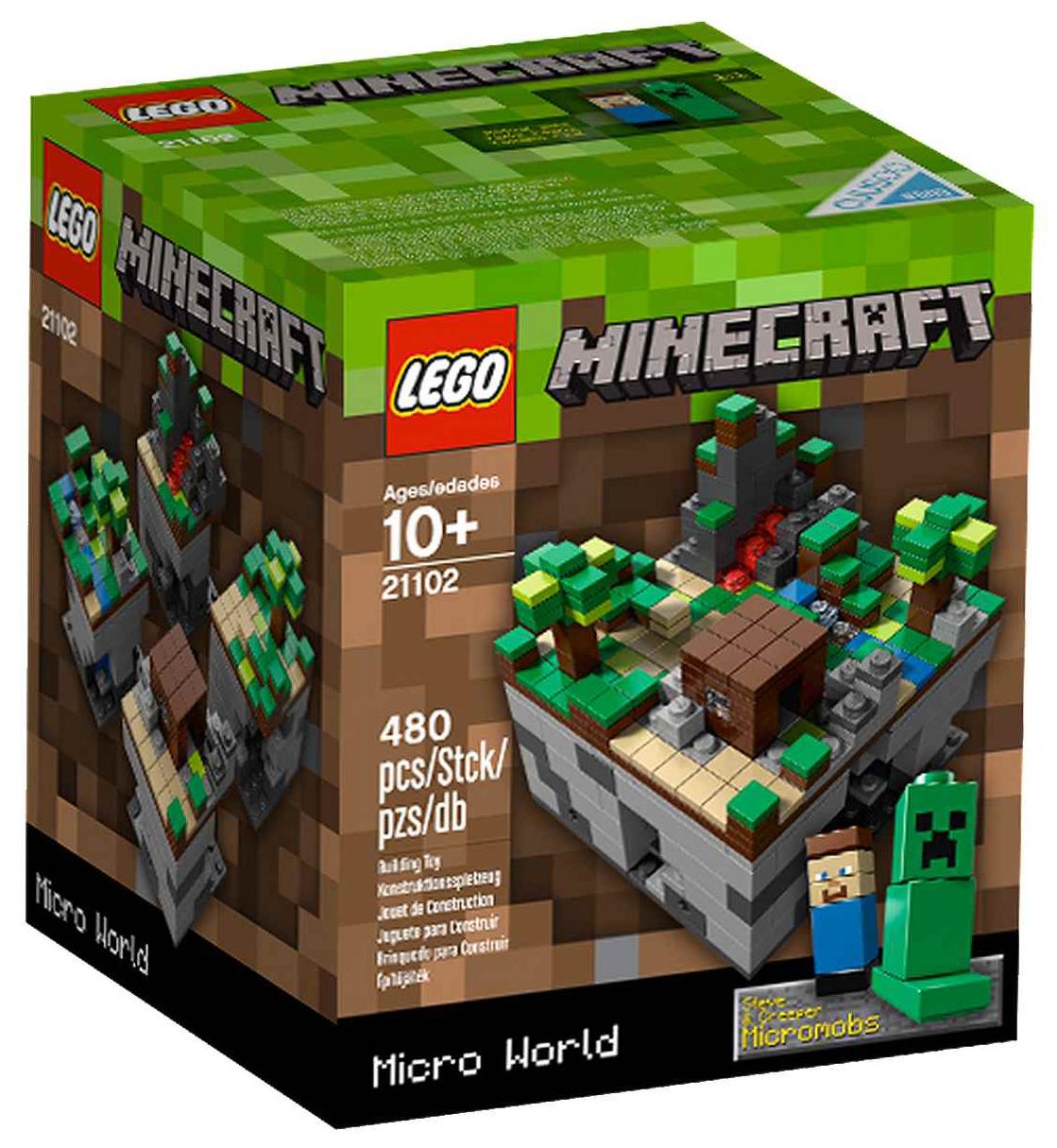 Mining Toys For Boys : Lego minecraft pas cher micro monde la forêt