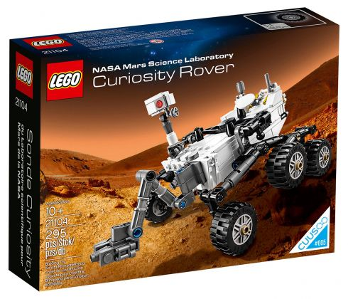 LEGO Ideas 21104 Rover Curiosity du laboratoire scientifique pour Mars de la NASA