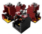 LEGO Minecraft 21106 Micro monde - Le Nether