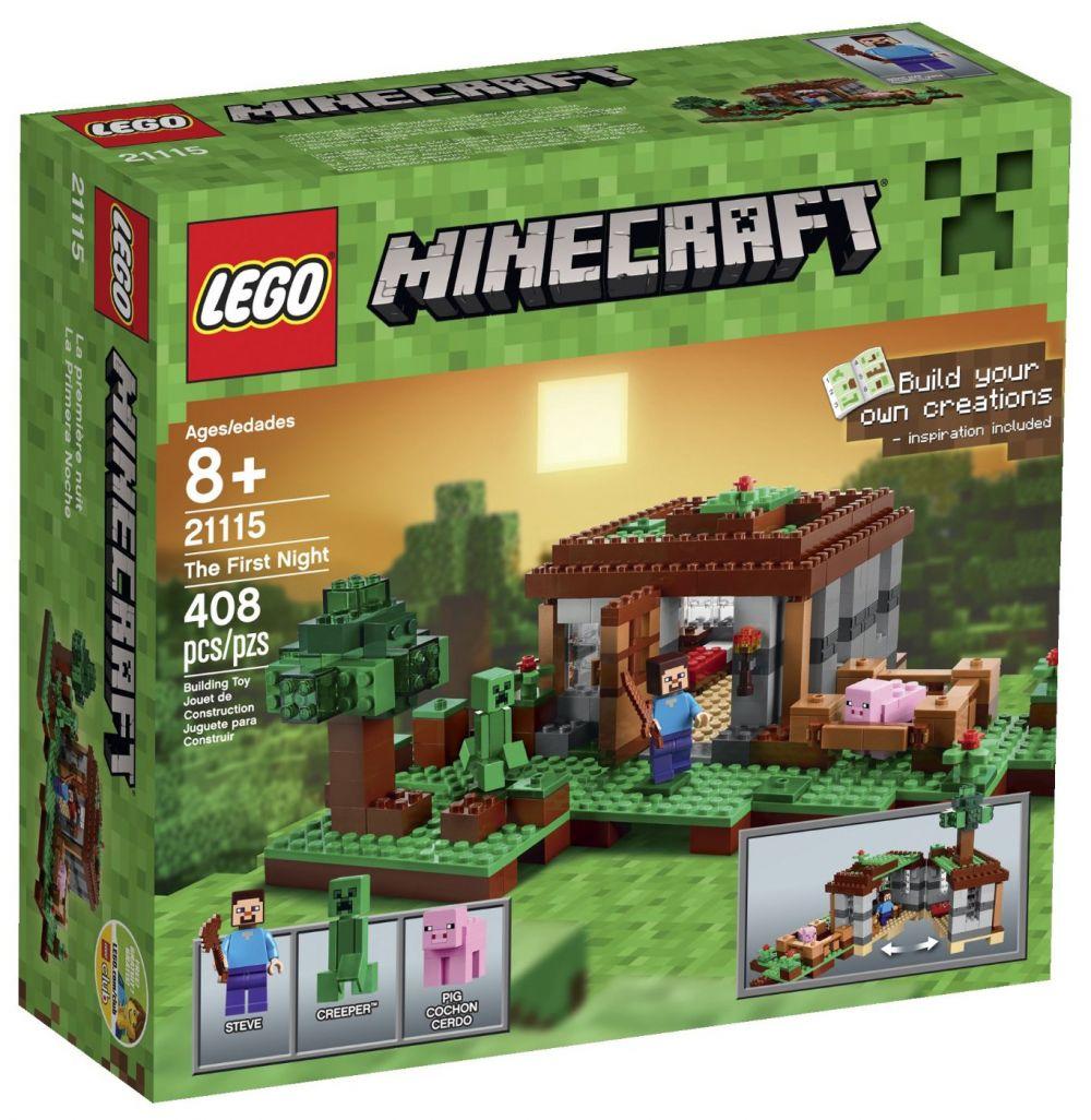 21115 Nuit La Première Minecraft Lego QeBoCxdErW