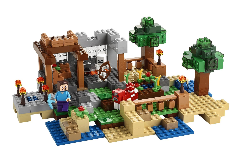 Lego minecraft 21116 pas cher la bo te de construction - Modele de construction lego ...