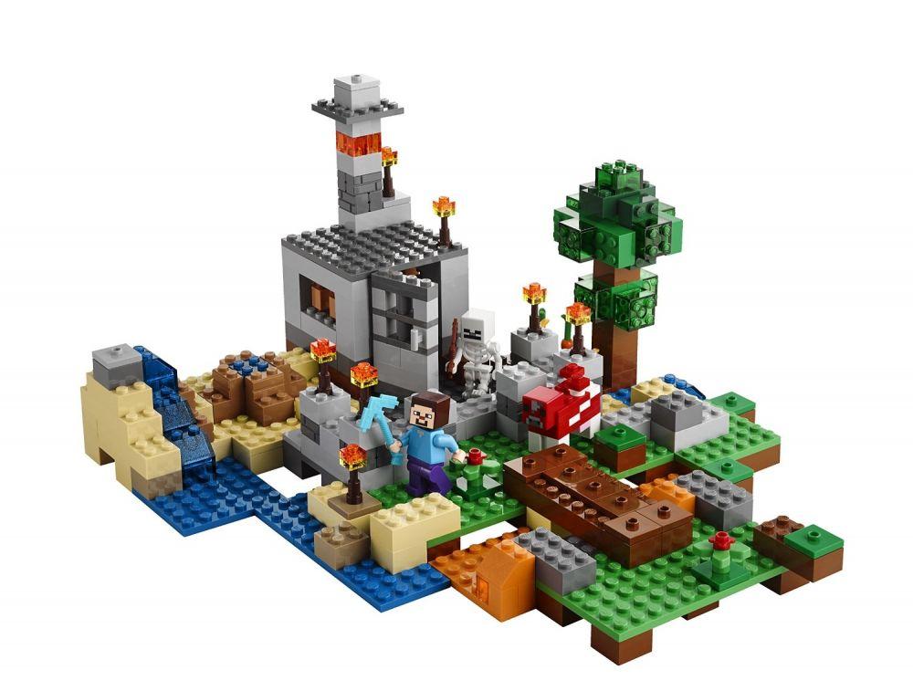 Lego Minecraft 21116 Pas Cher La Bo Te De Construction
