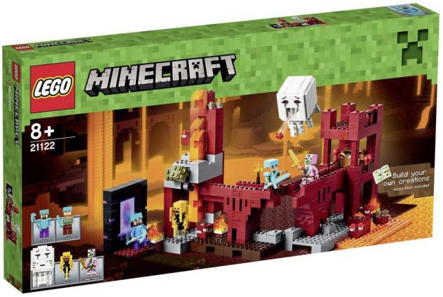 LEGO Minecraft 21122 La forteresse du Nether