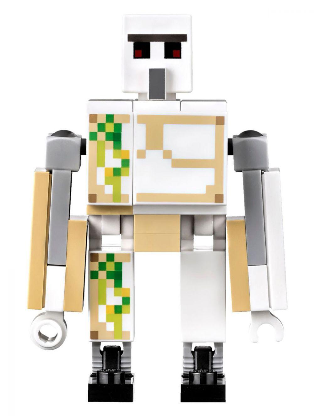 Lego minecraft 21123 pas cher le golem de fer - Minecraft golem de fer ...