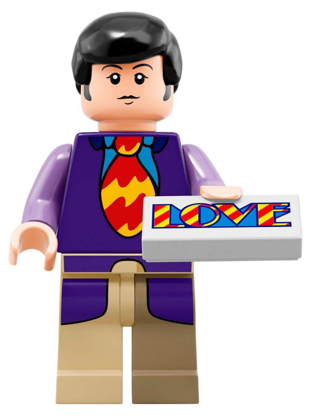 LEGO Ideas 21306 pas cher, The Beatles Yellow Submarine