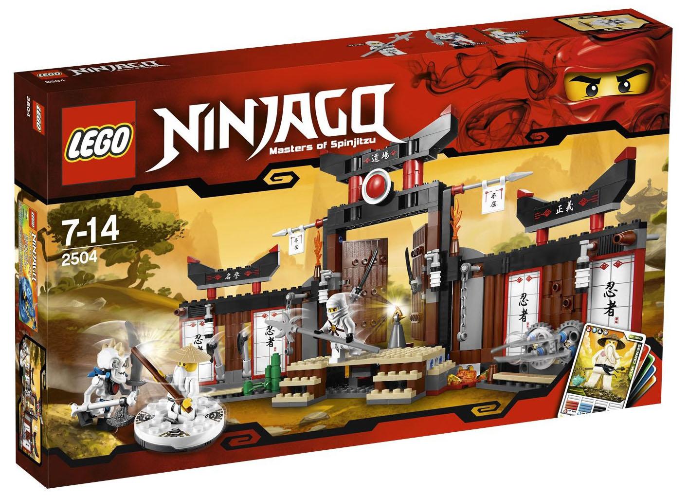 Lego ninjago 2504 pas cher le temple d 39 entra nement - Lego ninjago d or ...