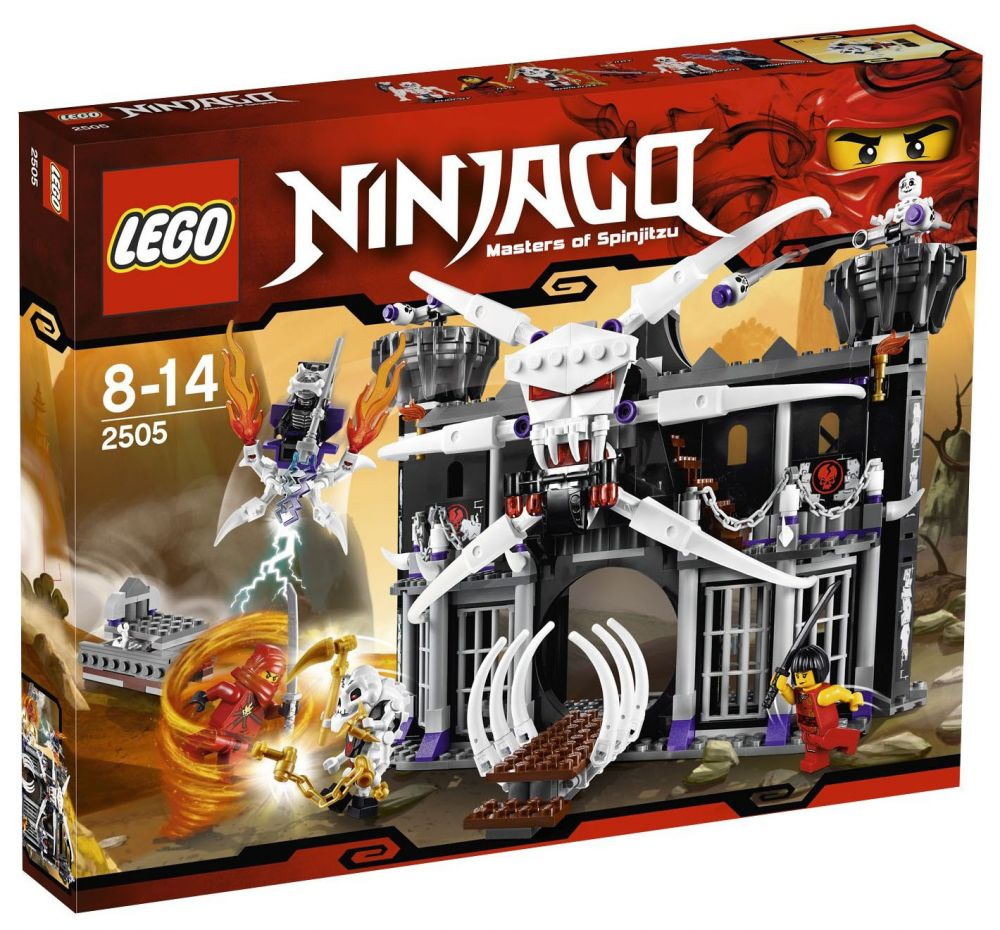 LEGO Ninjago 2505 La forteresse de Garmadon