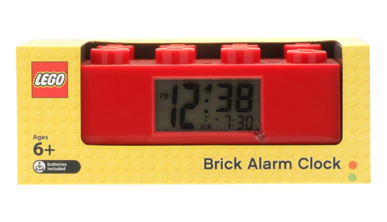 lego horloges r veils 2856236 pas cher r veil brique rouge. Black Bedroom Furniture Sets. Home Design Ideas
