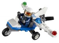 LEGO City 30018 L'avion de police (Polybag)