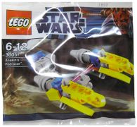 LEGO Star Wars 30057 - Anakin's Podracer (Polybag) pas cher