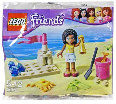LEGO Friends 30100 La plage (Polybag)