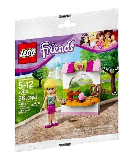 lego friends 30113 pas cher la p tisserie de st phanie. Black Bedroom Furniture Sets. Home Design Ideas