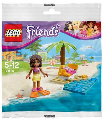 LEGO Friends 30114 Andrea's Beach Lounge (Polybag)
